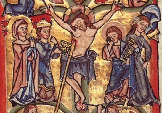 comparing late medieval crucifixion versus renaissance essay
